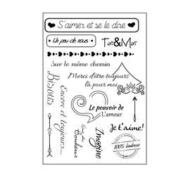 Clear Stamp Toi & Moi A5