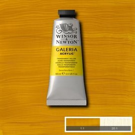 Winsor&Newton, Galeria Acrylic, Transparent Yellow, 60ml
