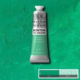 Winsor&Newton, Winton Oil Colour, Emerald Green, Serie 1