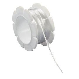 Elastiek-draad 1mm 5m wit
