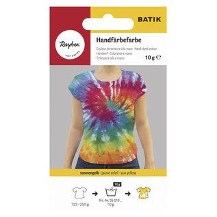 Rayher BATIK verf Tie-Dye Zonnegeel 10gr.