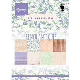 Marianne design Paperpad Franch Antique