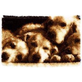 Vervaco Smyrna tapijt Hondenslaapje ca. 70x45cm