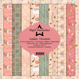 Dixi Paper Pack 15x15cm Italian Vacation