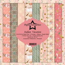Paper Pack 30,5x30,5cm  8 designs 200g/m²