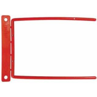 Archiefbinders D-Clip rood tot 115mm dikte