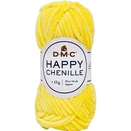 DMC Happy Chenille 15g 25 geel bad HC15