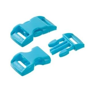 Clips 11-14mm Turquois 10st.