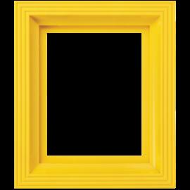 Pixel kader voor 1 basisplaat geel