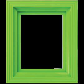 Pixel kader voor 1 basisplaat licht groen