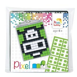 Pixel Medaillon Koe