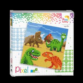 pixel set - Dino's