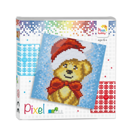 pixel set - Kerstbeertje