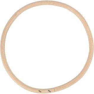 Bamboe ring d: 15,3 cm naturel 1st.