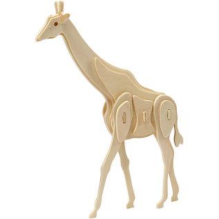 3D Puzzel Giraf afm 20x4,2x25cm triplex 1st.