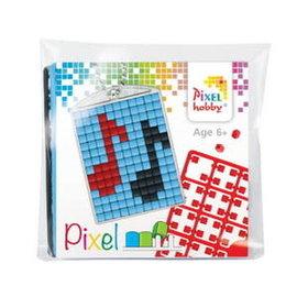 Pixel medaillon Music notes