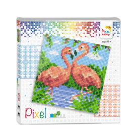 pixel set - Flamingo's