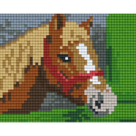 Pixelpakket met kader Paard