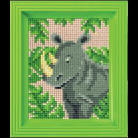 Pixelpakket Neushoorn