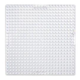 Pixel basisplaat klein vierkant transparant 24x24