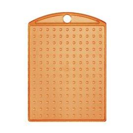 Pixels basisplaat Medaillon transparant Oranje