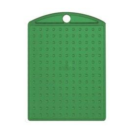 Pixels basisplaat Medaillon transparant Groen