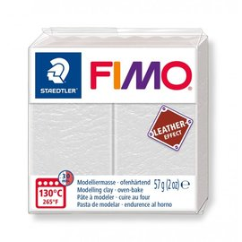Fimo Leather-effect 57g Ivoor