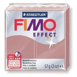 FIMO Effect Boetseerklei 57g. parelmoer rose