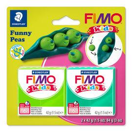 "Fimo Kids funny set ""Funny Peas"""