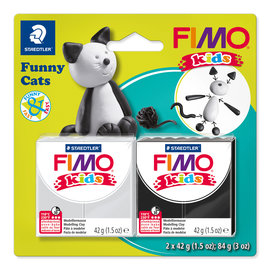 """Fimo Kids funny set """"Funny Cats"""""""