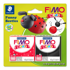 "Fimo Kids funny set ""Funny Beetles"""