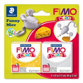 "Fimo Kids funny set ""Funny Mice"""