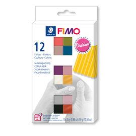 Fimo soft set - colour pack 12 fashion colours