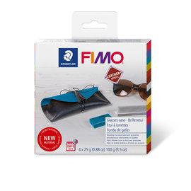 Fimo Leather-effect DIY set - Glasses case kit