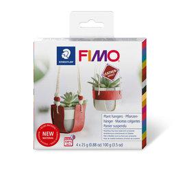 Fimo Leather-effect Diy set - Plant hanger kit