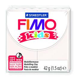 Fimo kids boetseerklei 42g wit