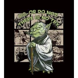 Camelot Dotz® - 57x64cm Yoda Diamond Painting