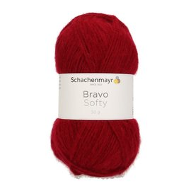 Schachenmayr SMC Bravo Softy 50g 08222 rood 215238