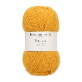 Schachenmayr SMC Bravo Softy 50g 08028 geel-oker bad 215130
