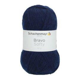 Schachenmayr SMC Bravo Softy 50g 08223 donkerblauw bad 215133
