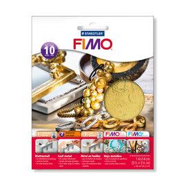 Fimo Bladmetaal goud 10 vel
