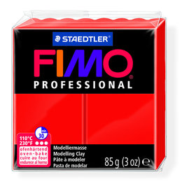 Fimo Professional 85g primair rood
