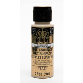 FolkArt Multi-surface Glitter Chancky Gold 59ml.