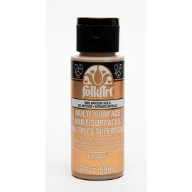 FolkArt FolkArt Multi-Surface Metallic 6302 Antique Gold 59ml