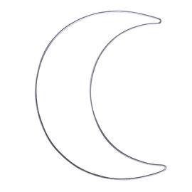 Metalen frame - dromenvanger maan 19,5x25cm