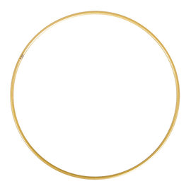 Metalen dromenvanger bedekt 25cm goud