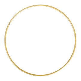 Rayher Metalen dromenvanger ring bedekt 25cm goud
