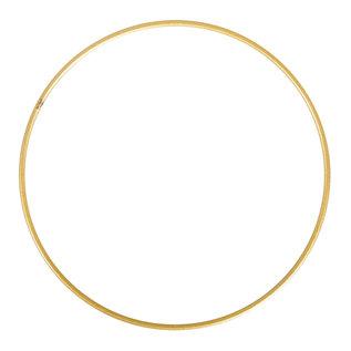 Rayher Metalen dromenvanger bedekt 25cm goud