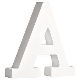 """Letter 11cm """"A"""" Wit"""