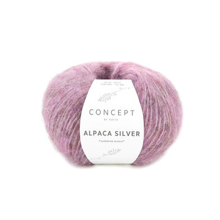 Katia Alpaca Silver 25g 267 lila roze bad 28893